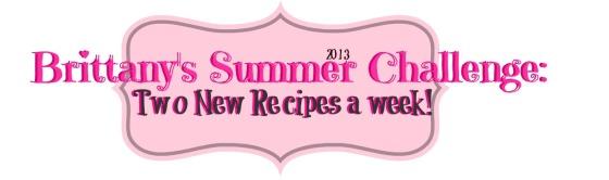 Brittany's Summer 2013 Challenge Logo