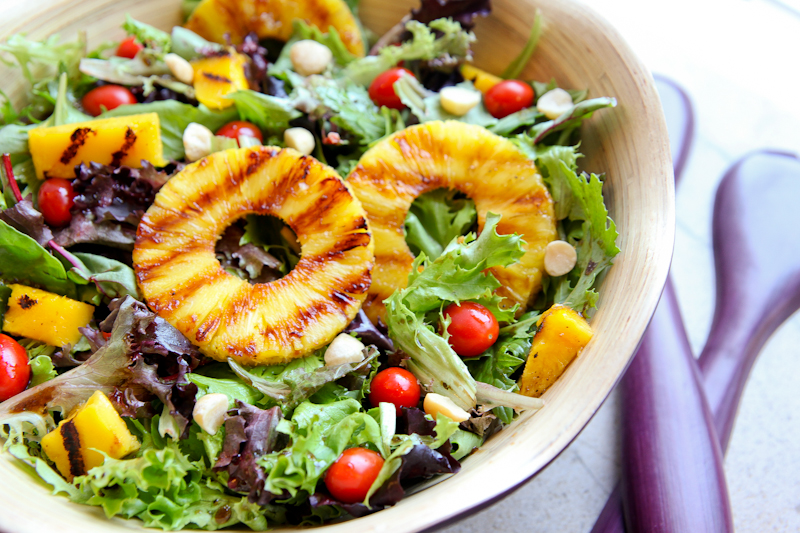 - Fruits and Vegetables are a fabulous way to spice up a boring salad ...