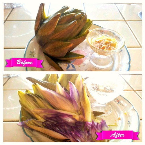 Artichoke Before:After