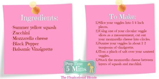 Zucchini Squash Stacks Ingmake